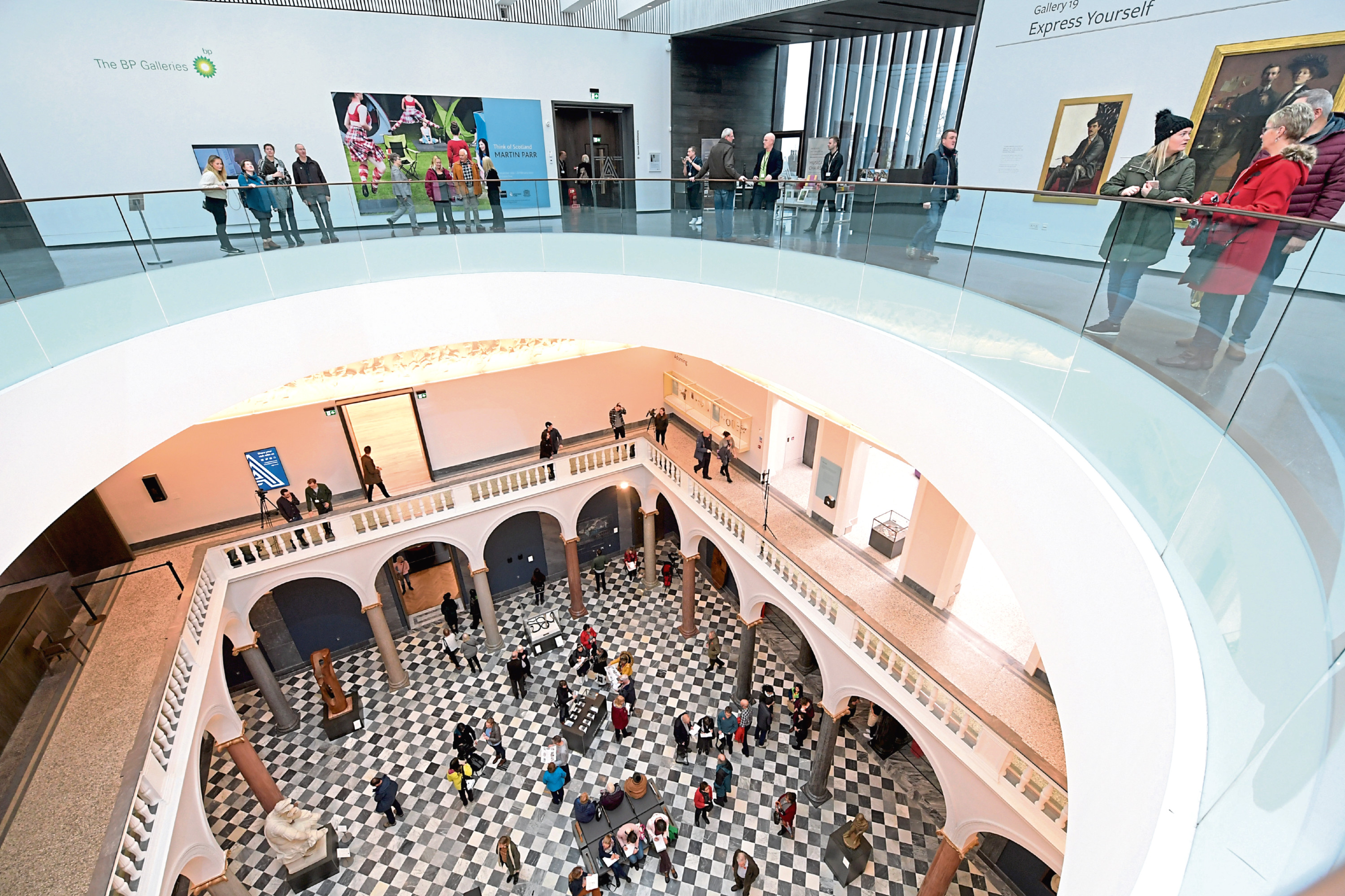 The revamped art gallery