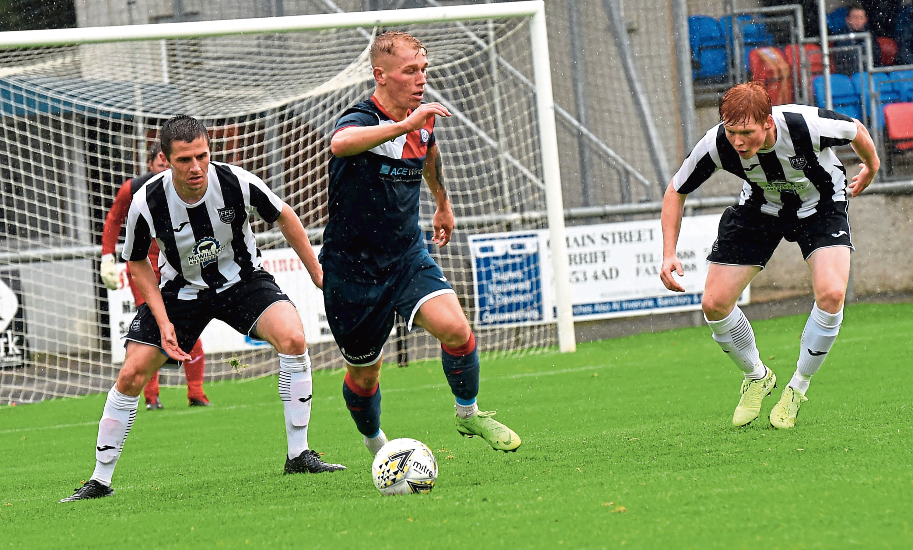 Fraserburgh's Owen Cairns, right. Picture by Heather Fowlie