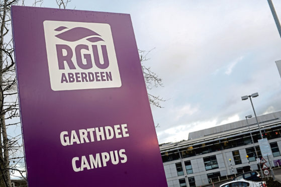 Robert Gordon University was affected by the power outage