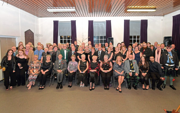 Annual dance for Gordon Highlander Association at the Gordon Barracks
