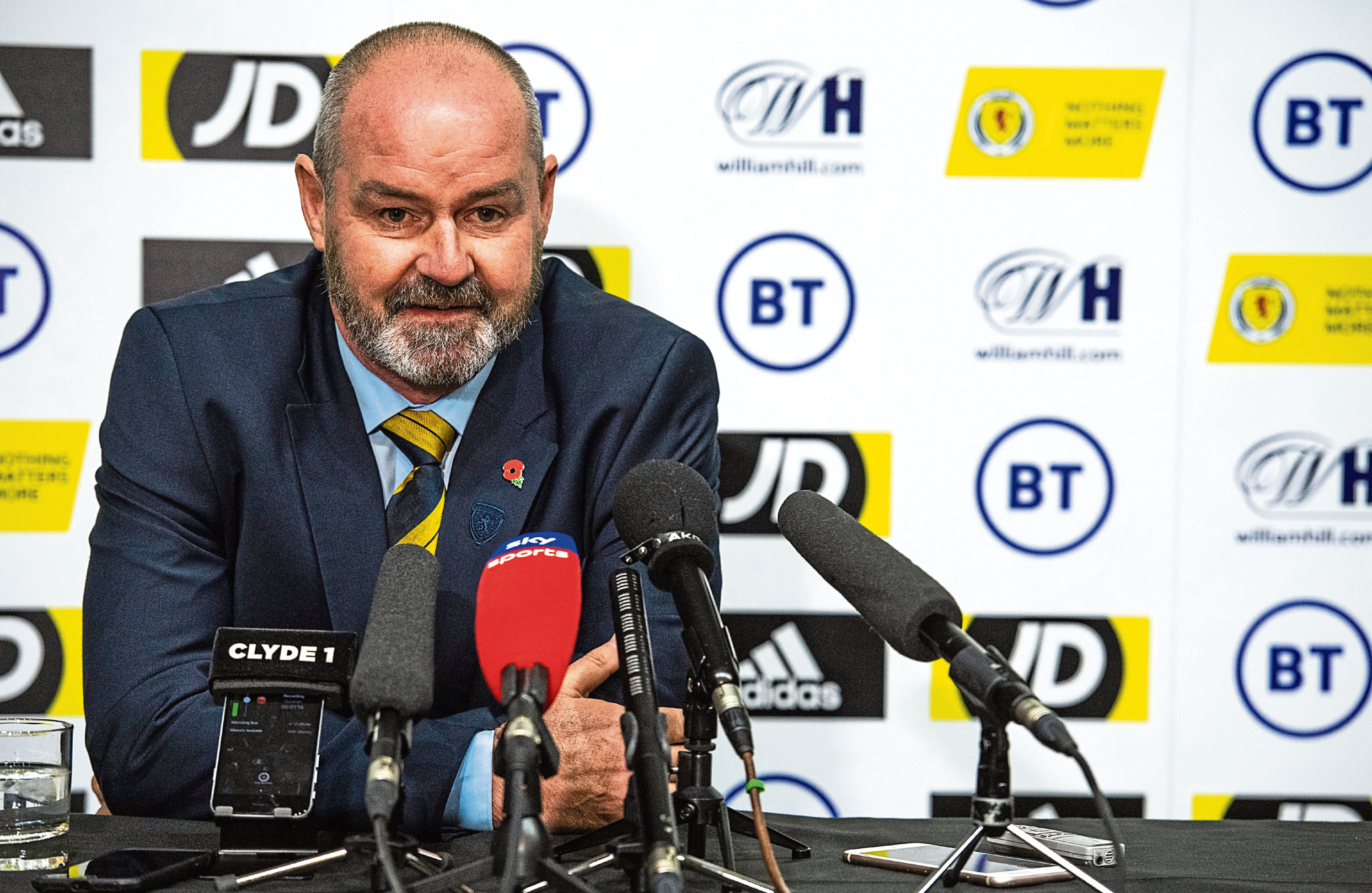 Scotland head coach Steve Clarke names his squad for the forthcoming UEFA Euro 2020 qualifying matches against Cyprus and Kazakhstan.