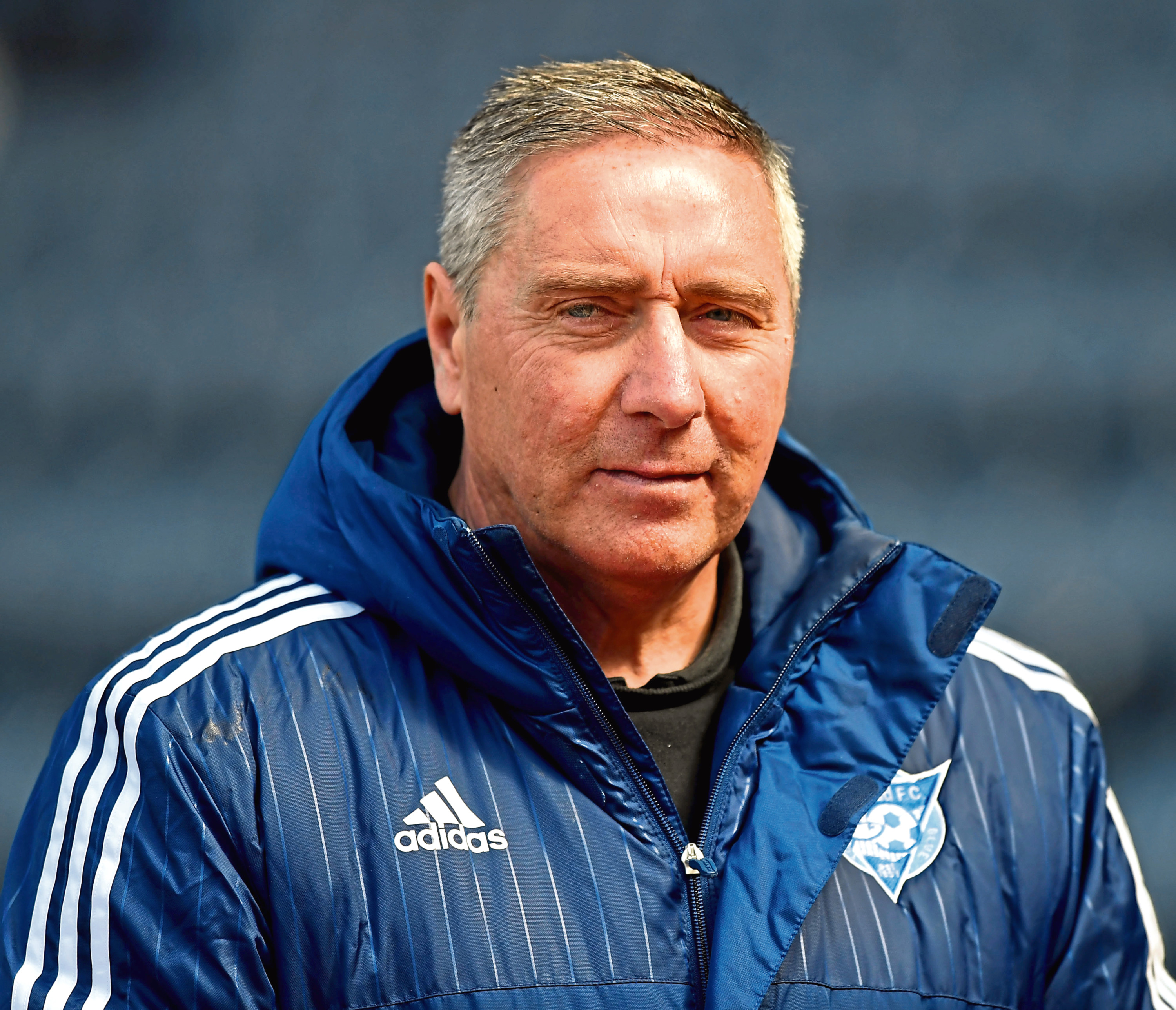 Peterhead manager Jim McInally.