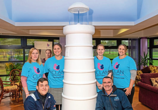 The lighthouse sculptures will be painted by artists before heading out across the region