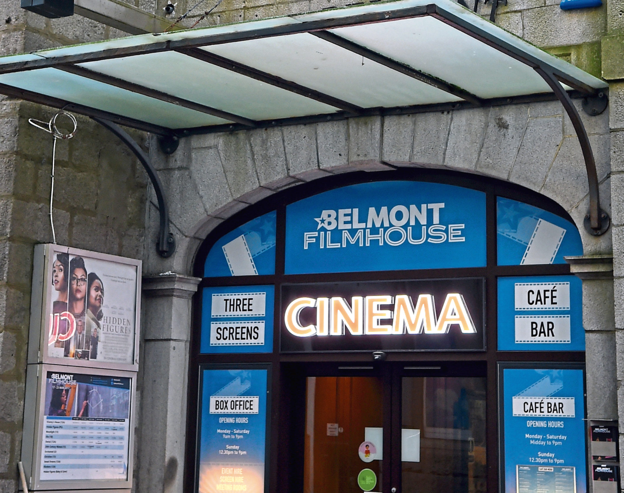 Belmont FIlmhouse has reached more than 25% of its fundraising target after one day