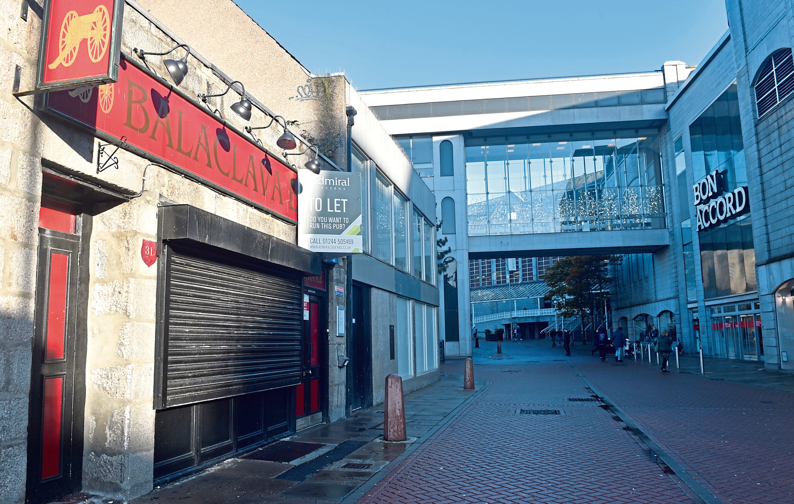The Balaclava Bar on Loch Street closed its doors in September and the search is on for a new licensee