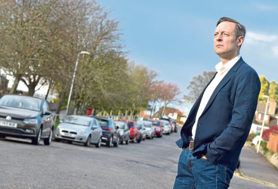 North-east MSP Liam Kerr said it was 'unacceptable that residents are being inconvenienced' by the 'anti-social' parking of drivers in the city