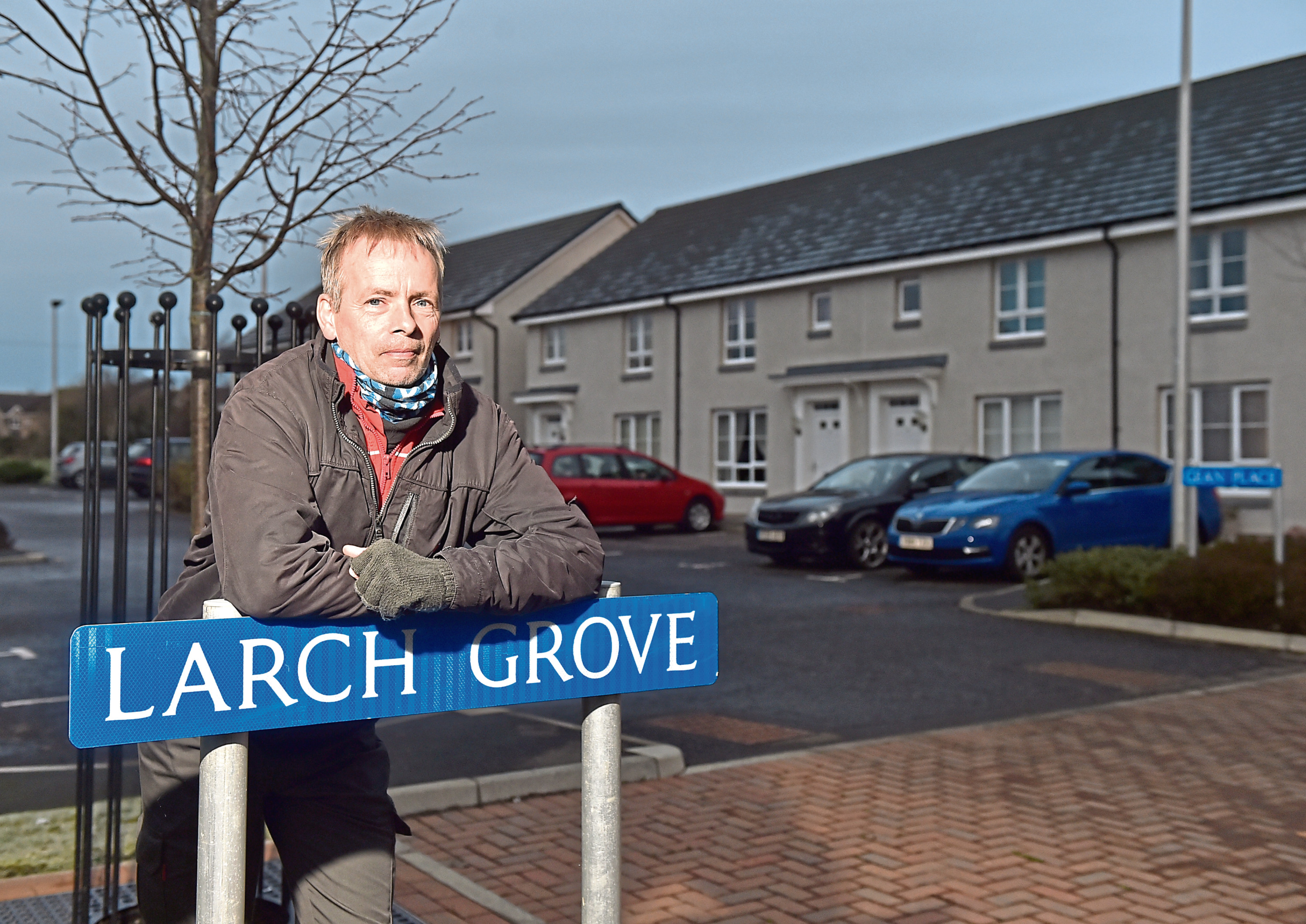 Residents have hit out after grit bins were taken away from their development