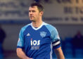 David McCracken in action for Peterhead.