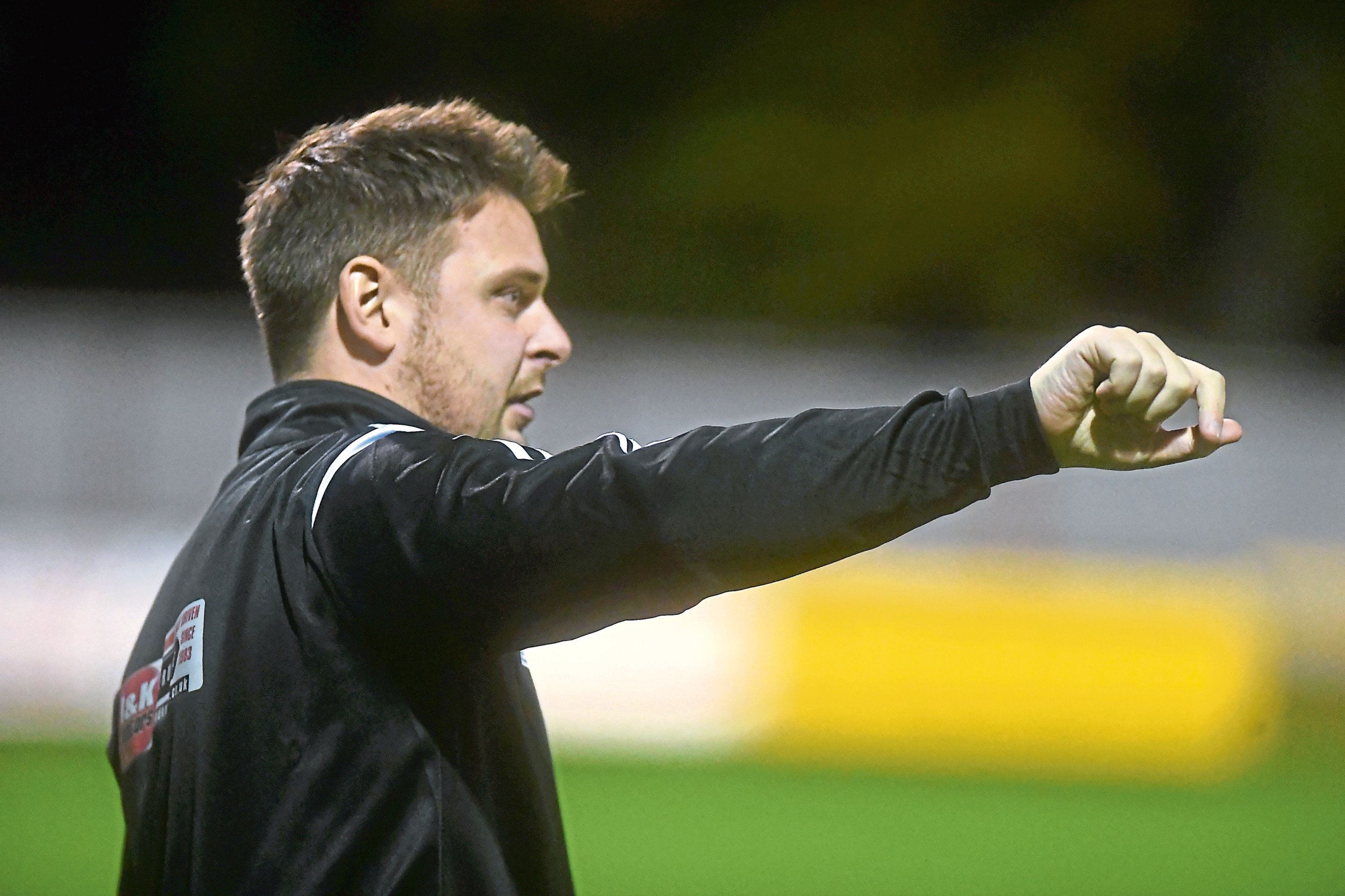 Huntly's manager Martin Skinner. Picture by Chris Sumner