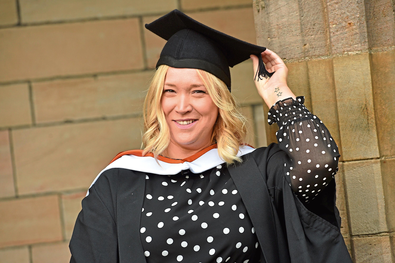 Graduate Vikki Stephen