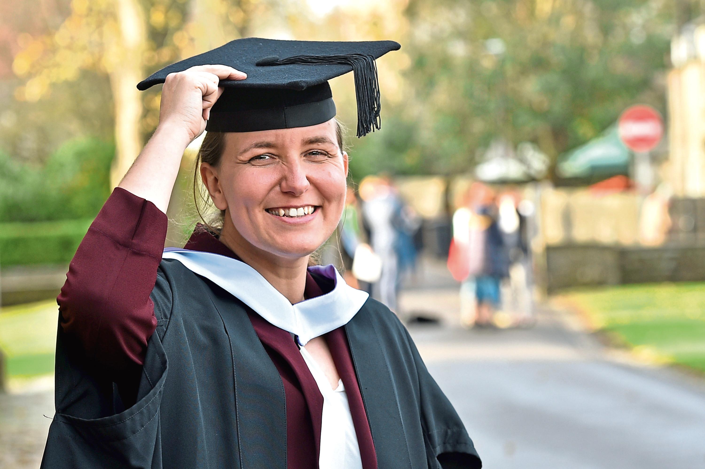 Graduate Heather Armstead