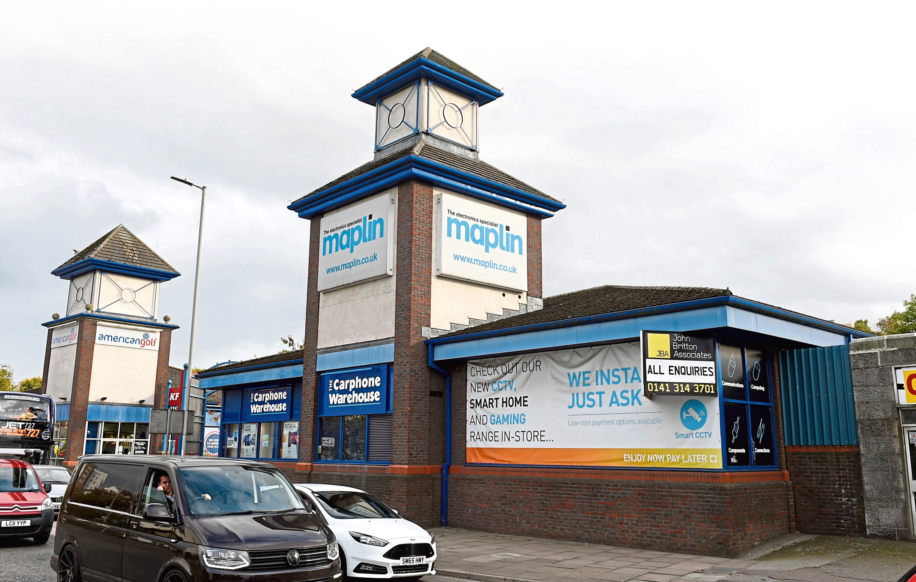 A demolition warrant has been submitted to Aberdeen City Council regarding the Maplin and Carphone Warehouse site