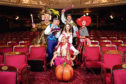 The cast of the Cinderella Panto