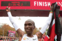 Kenyan runner Eliud Kipchoge and American footballer Megan Rapinoe, below, are up for the world sports star of the year