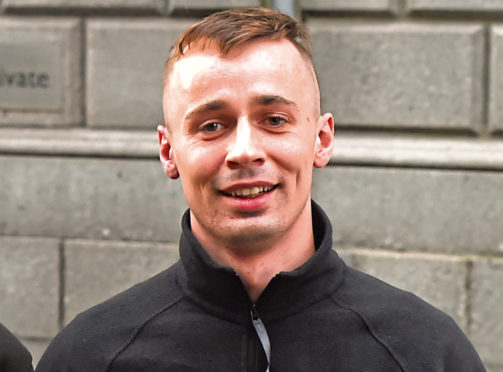 Graeme Hunter appeared at Aberdeen Sheriff Court