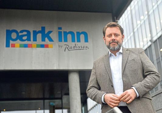 Frank Whitaker, general manager of Park Inn by Radisson Aberdeen