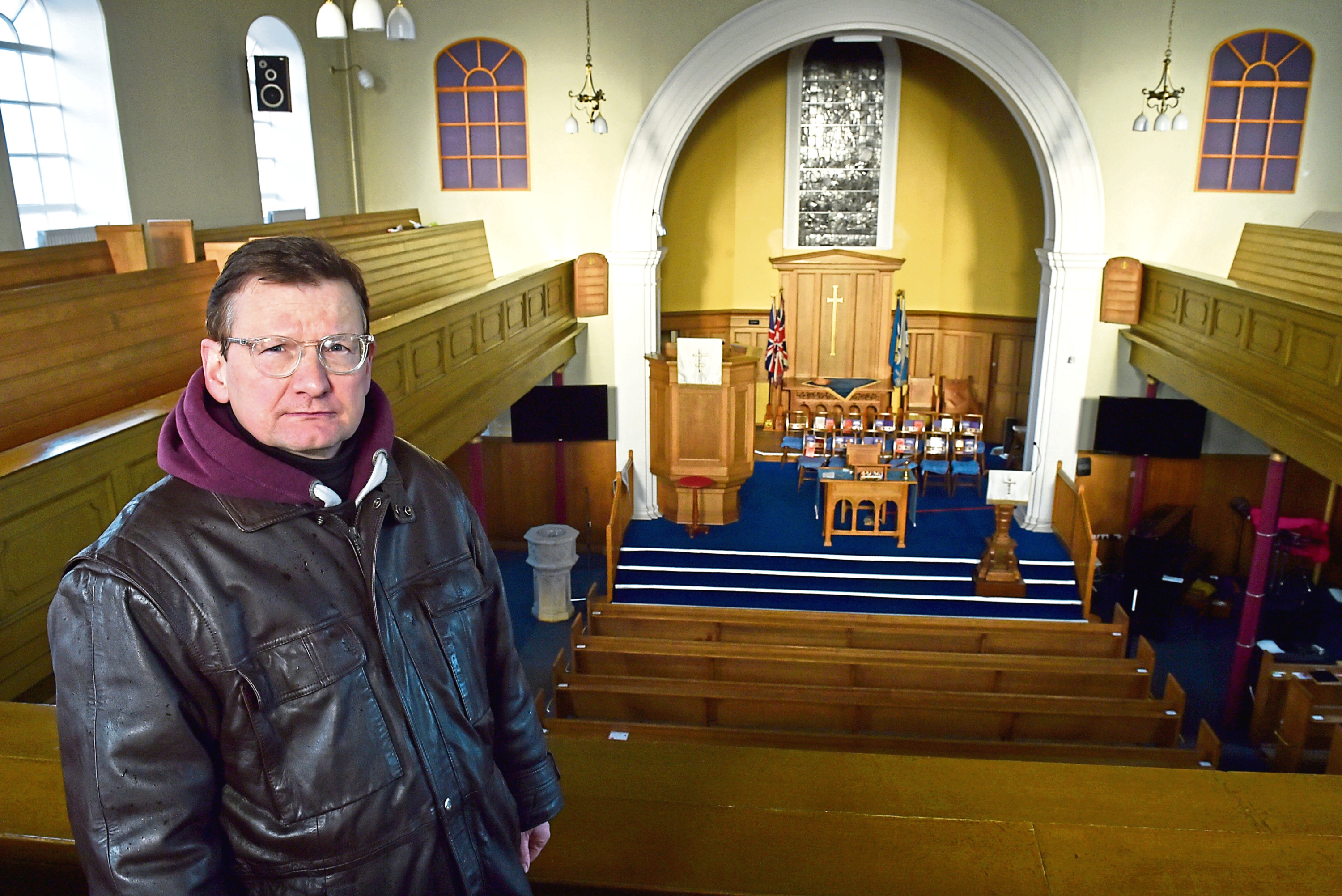 Rev Markus Auffermann fears the community will suffer.