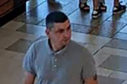 CCTV image of a man police want to speak to following the incident at H&M in Union Square