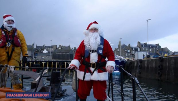 Santa will visit the RNLI Fraserburgh crew