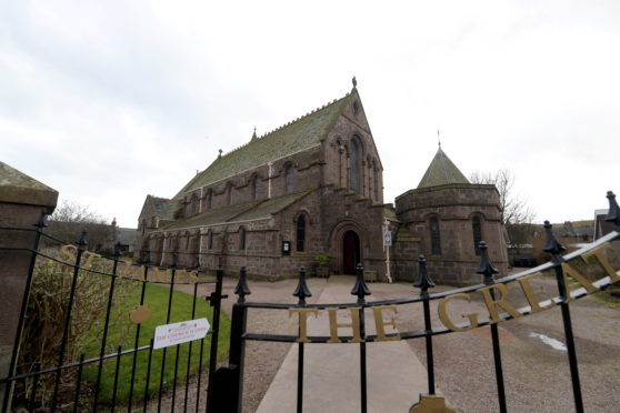 St James Church in Stonehaven