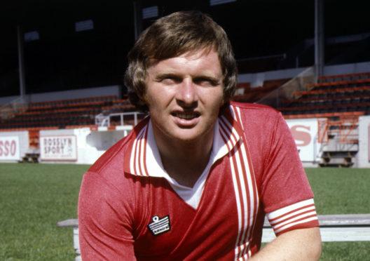Joe Harper in 1978.