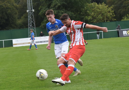 Formartine's Stuart Anderson. Picture by Heather Fowlie