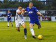 Cove Rangers' Harry Milne in action.