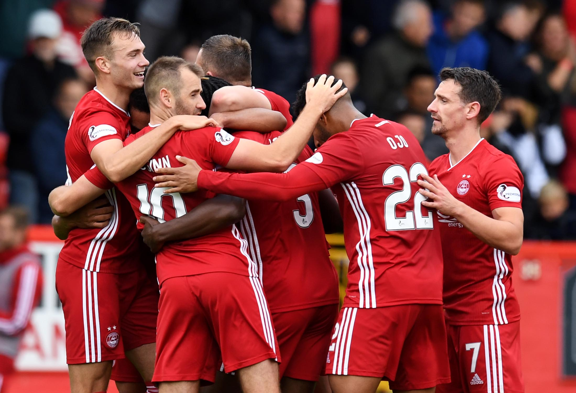 31/08/2019 Aberdeen defeated County 3-0 earlier this season