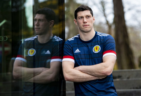 Scott McKenna is on senior Scotland duty.