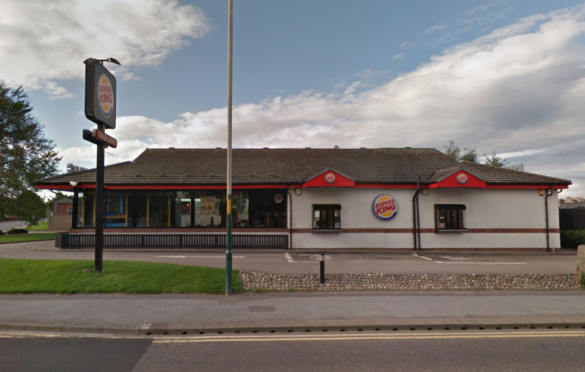 Burger King on Ashgrove Road, Elgin