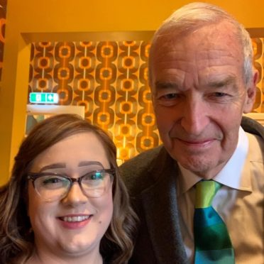 Jon Snow with Melt owner Mechelle Clark