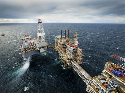 Around 160 Wood contractors across CNOOC's North Sea installations will be affected. Pictured is CNOOC's Buzzard field.