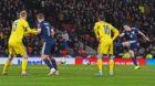 John McGinn, right, equalises for Scotland against Kazakhstan at Hampden