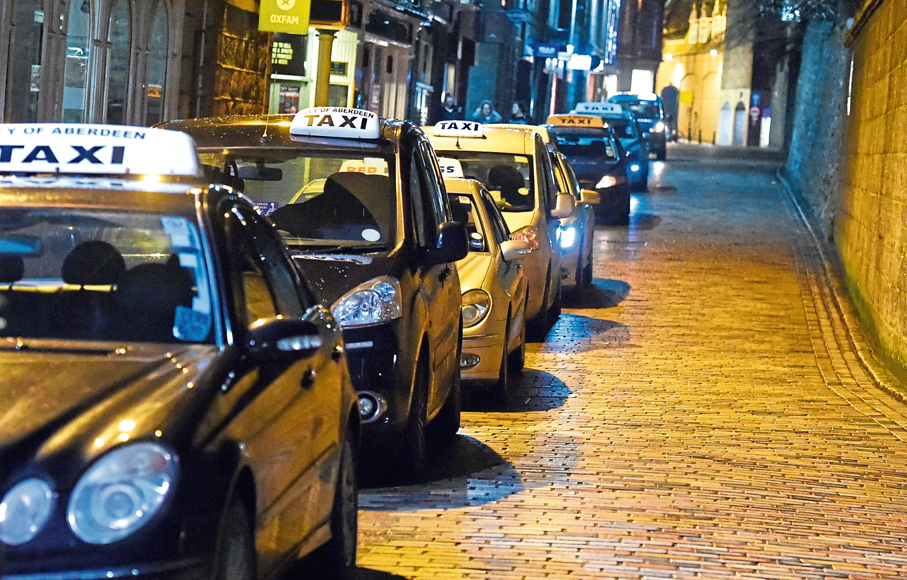 Councillors voted in favour of a taxi fares increase in the city – but not everyone was happy at the decision