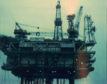 Oil Platform 'Forties Alpha', 1976