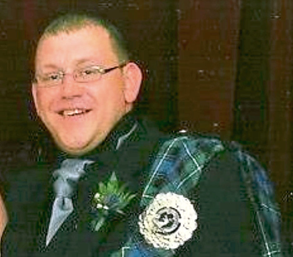 Devoted dad Mark Mathers died aged 33 in an industrial accident