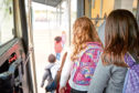 """Parents of about 1,275 pupils will no longer have to pay the annual fees of up to £179.40 for """"privilege school transport"""""""