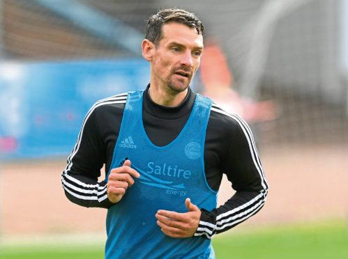 Aberdeen midfielder Craig Bryson.