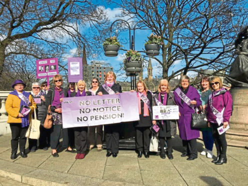 The Woman Against State Pension Inequality (Waspi) are campaigning for compensation after pension changes