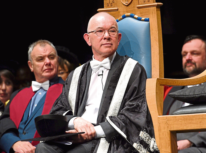 Professor George Boyne, principal of Aberdeen University