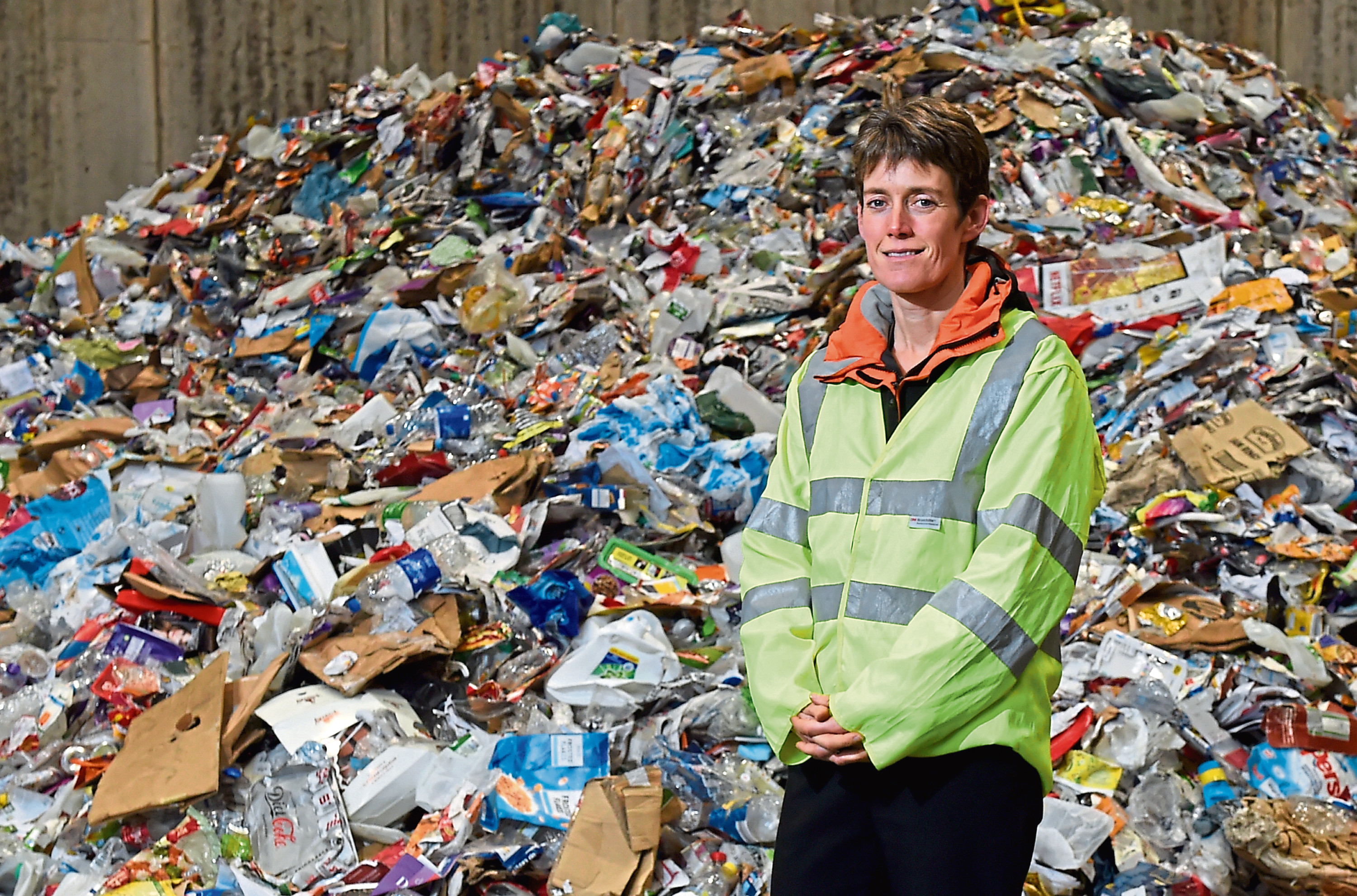 Ros Baxter, waste manager at Aberdeenshire Council