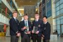 The Paddy Petroleum team, from left, Alistair Finch, Patrick Ashdown, Douglas Fraser and Sean Alger
