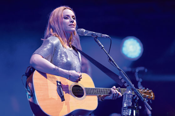 Amy MacDonald performs at Belladrum 02/08/2018 Sandy McCook
