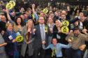 SNP's Richard Thomson after winning the Gordon seat