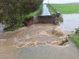 A number of bridges across Aberdeenshire were washed away or damaged
