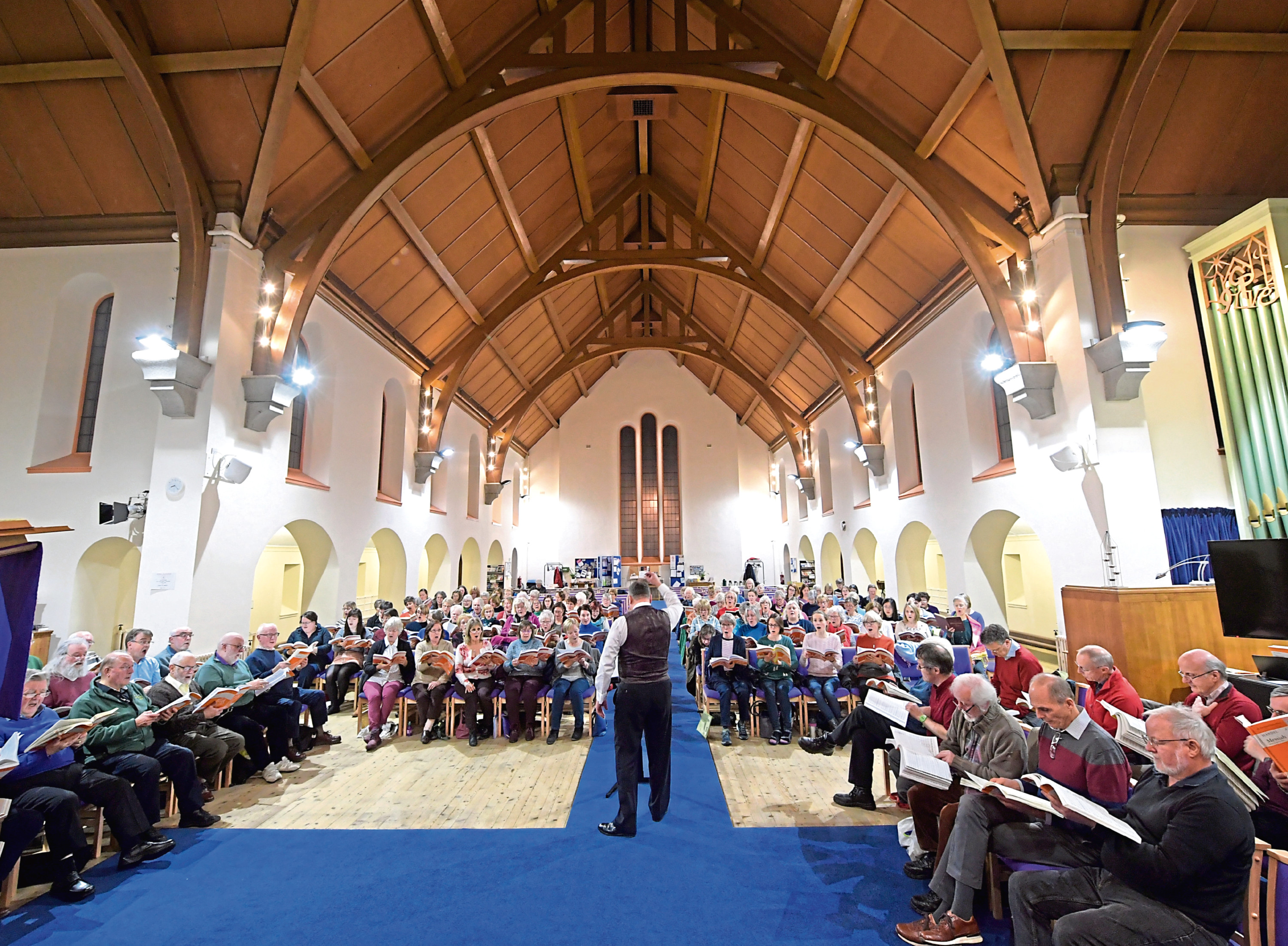 The Aberdeen and Bach choirs are performing together for the first time
