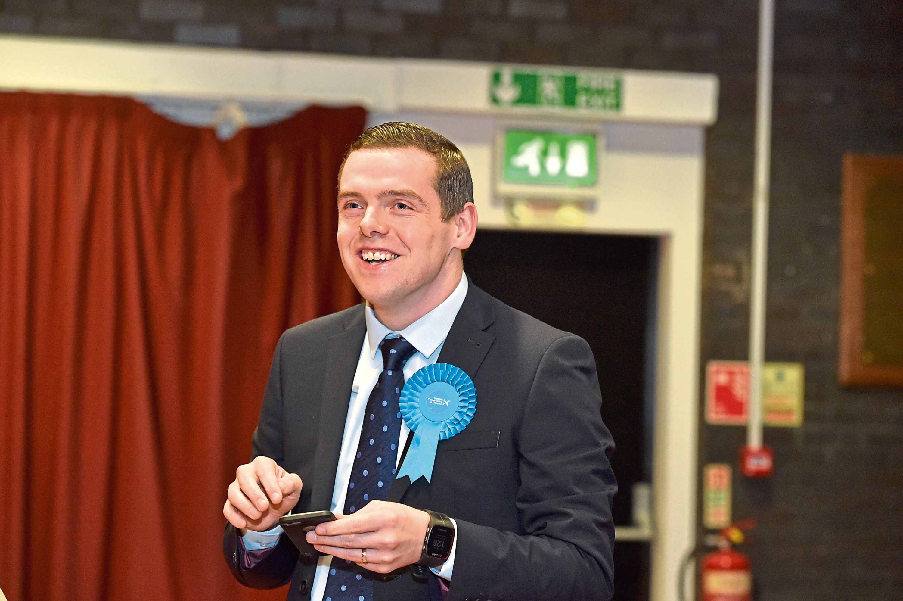 Moray MP Douglas Ross has resigned as minister after Dominic Cummings breach of lockdown.