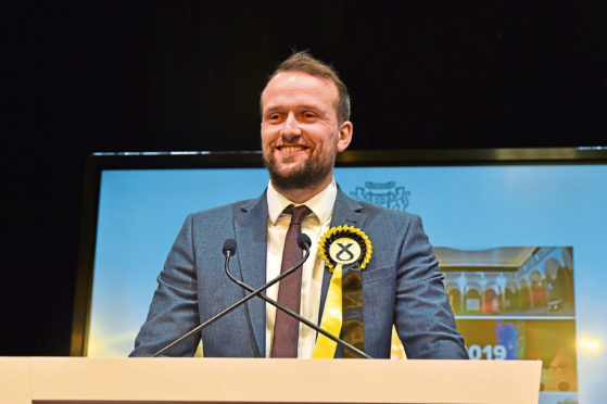 New Aberdeen South MP Stephen Flynn