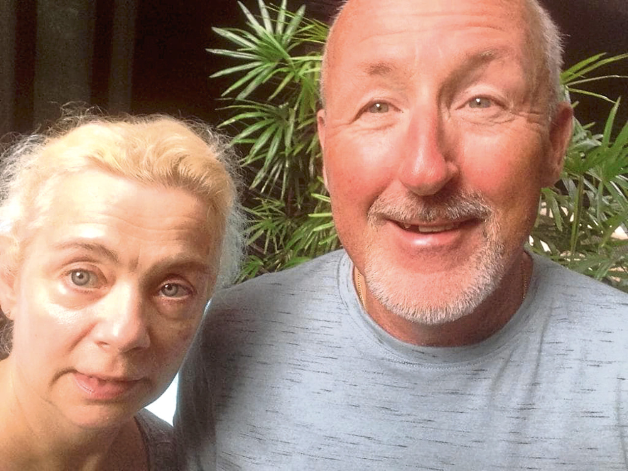 Kayaker Kenny McPherson, pictured with his partner Alexandra, has been missing in Spain since November 23