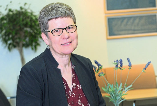 Aberdeenshire Council co-Leader Alison Evison